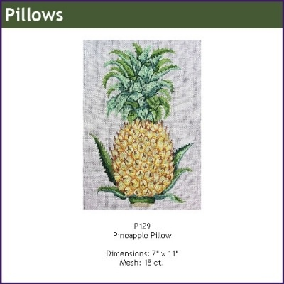 Canvas PINEAPPLE PILLOW  P129