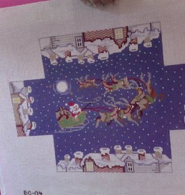 Canvas XMAS BRICK COVER  BC04