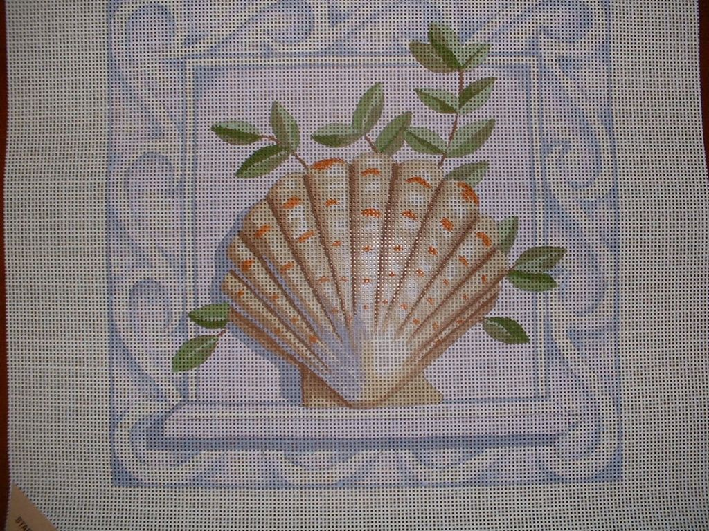 Canvas SCALLOP SHELL  JK03A