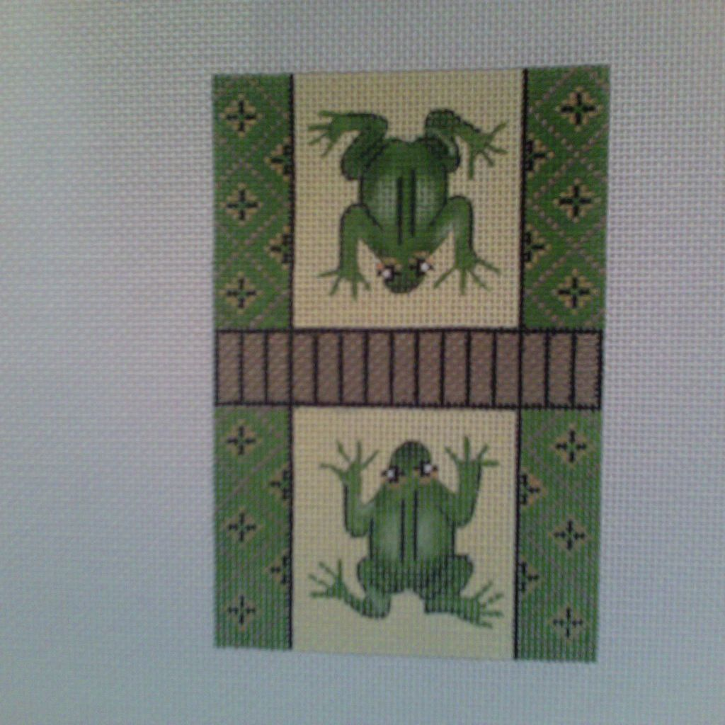 Canvas FROG CREDIT CARD COVER  CCL20