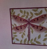 Canvas BROWN SPOTTED DRAGONFLY  905B