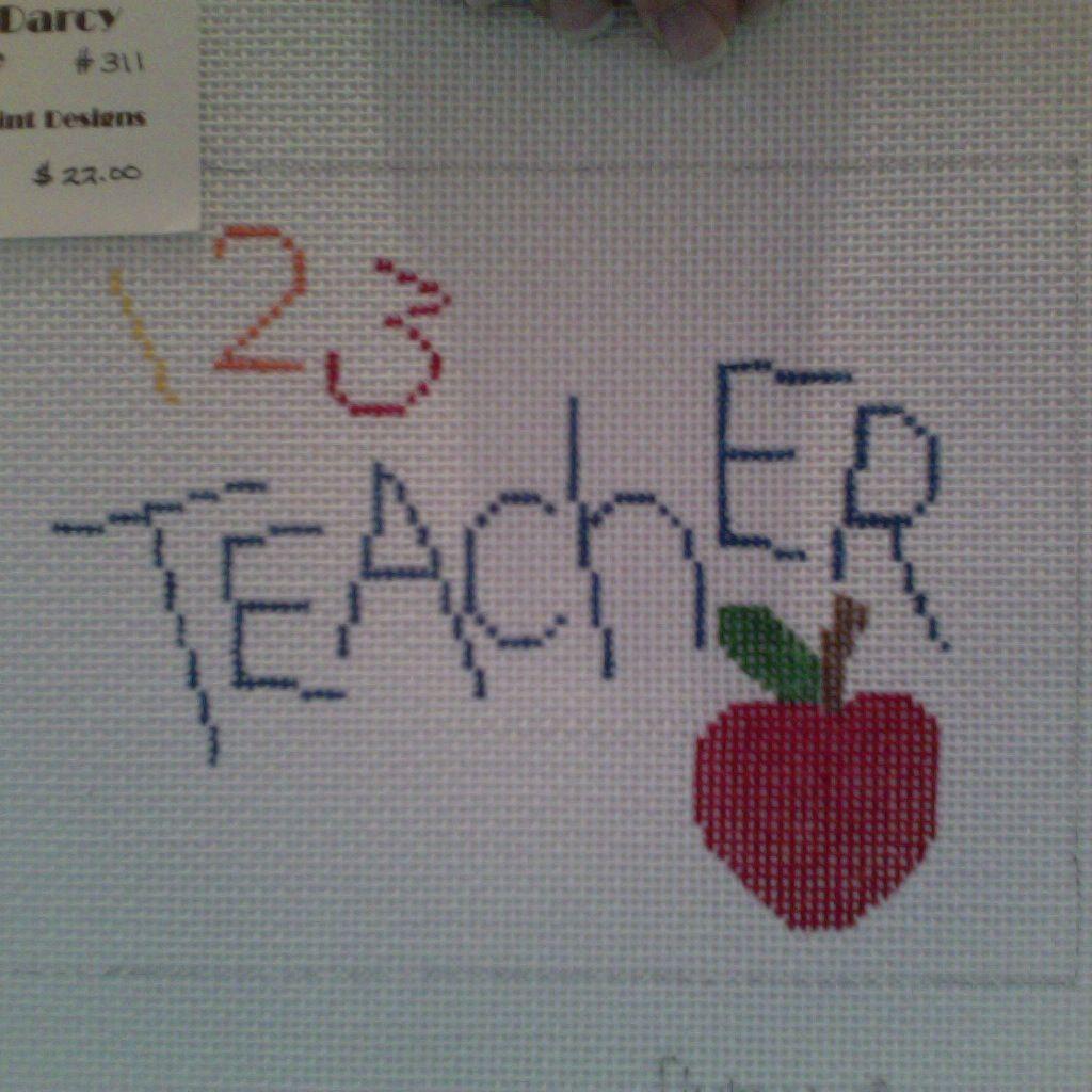 Canvas 123 TEACHER  Q22