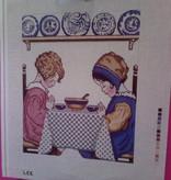 Canvas TEA PARTY  WH1186