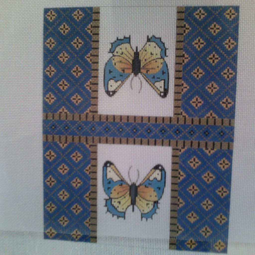 Canvas SALE  -  BUTTERFLY WALLET COVER  WL03   REG $92
