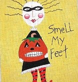 Canvas SMELL MY FEET  M926