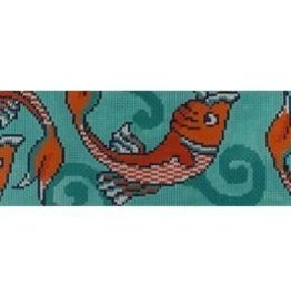 Canvas KOI FISH CLUTCH BAND  CLCB134