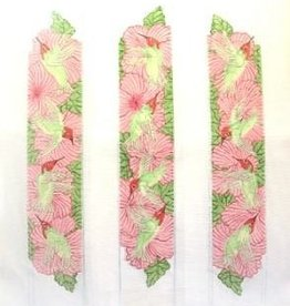 Canvas HUMMINGBIRDS LUGGAGE STRAPS  B69