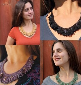 Yarn RIPPLED NECKLACE KIT - NELKIN