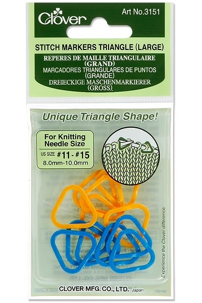 Accessories LARGE TRIANGLE STITCH MARKERS
