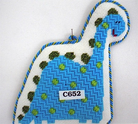 Canvas DOTTED DINO  C652