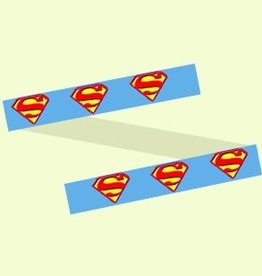 Canvas SUPERMAN DOG COLLAR  P643N