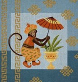 Canvas MONKEY & UMBRELLA  A017