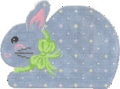 Canvas BLUE MINI BUNNY  CH310L