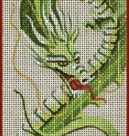 Canvas DRAGON'S BREATH IPAD COVER 7626
