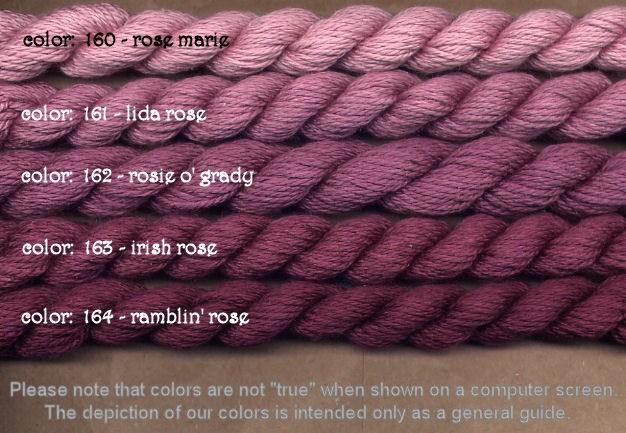 Fibers Silk and Ivory    IRISH ROSE