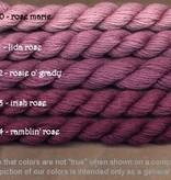 Fibers Silk and Ivory    RAMBLIN ROSE