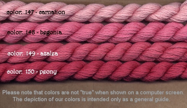 Fibers Silk and Ivory    CARNATION