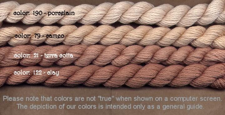 Fibers Silk and Ivory    CAMEO