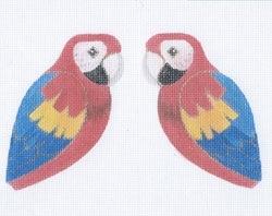 Canvas MACAW CLIP-ON BIRD  300O