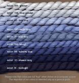 Fibers Silk and Ivory    TRUE BLUE