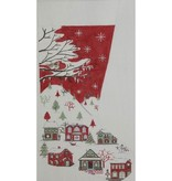 Canvas COUNTRY SCENE STOCKING  2389