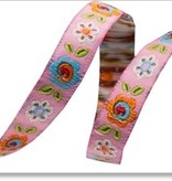 Accessories PINK HAPPI FLOWERS RIBBON  DN410