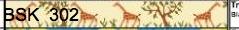 Canvas GIRAFFE BELT  BSK302