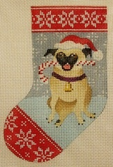 Canvas PUG MINI SOCK  KH248