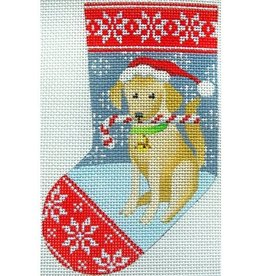 Canvas YELLOW LAB MINI SOCK  KH357