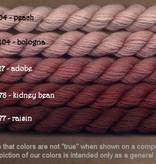 Fibers Silk and Ivory    KIDNEY BEAN