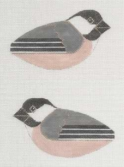 Canvas CHICKADEE CLIP ON BIRD LL306F