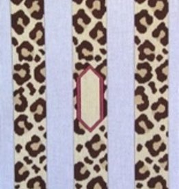 Canvas LEOPARD LUGGAGE STRAPS  LUG200