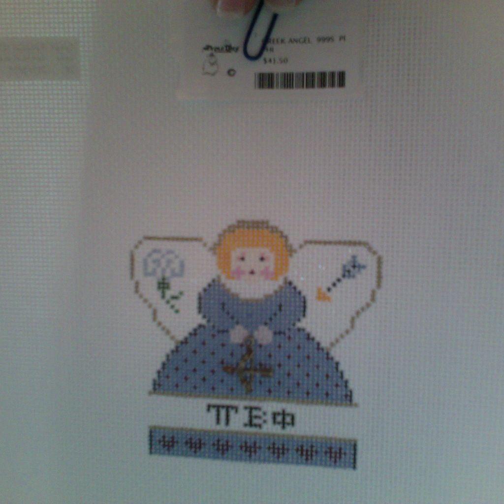 Canvas GREEK ANGEL  999S  PI PHI
