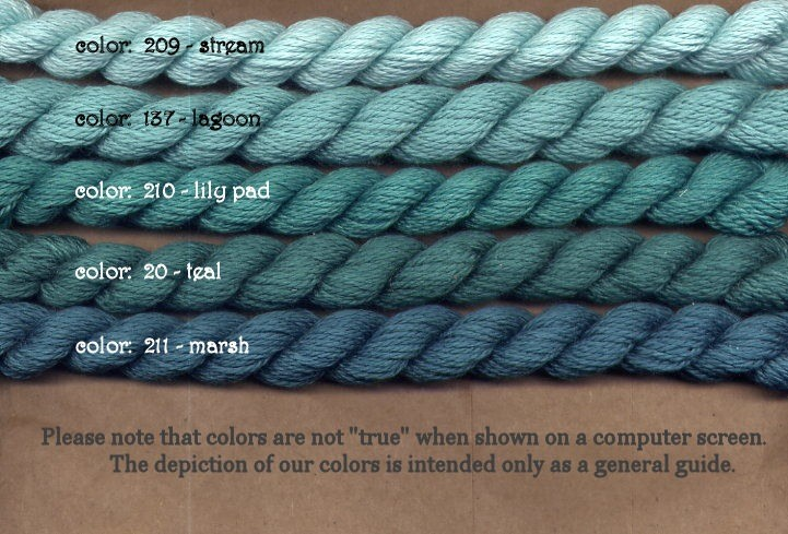 Fibers Silk and Ivory    LAGOON