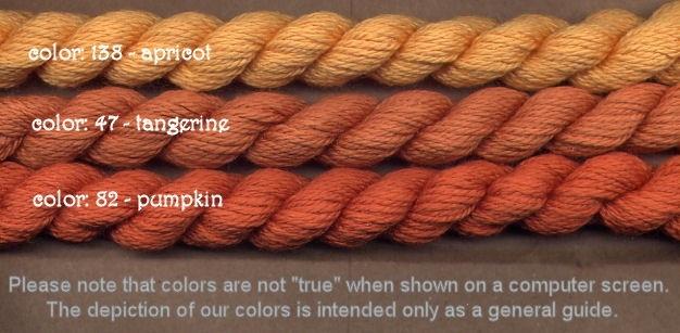 Fibers Silk and Ivory    APRICOT