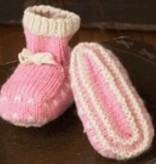 Yarn THRUM MITTENS AND BOOTIES SET