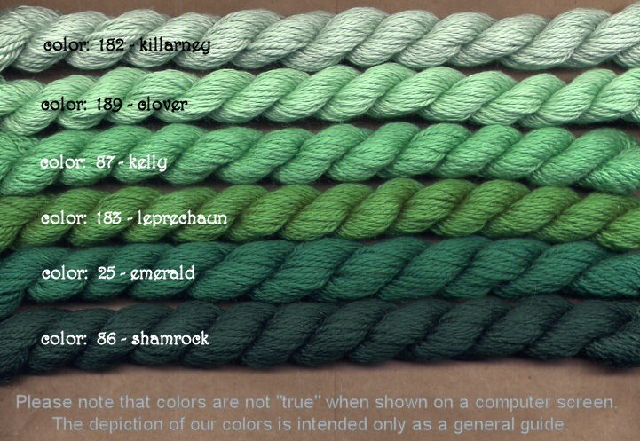 Fibers Silk and Ivory    EMERALD