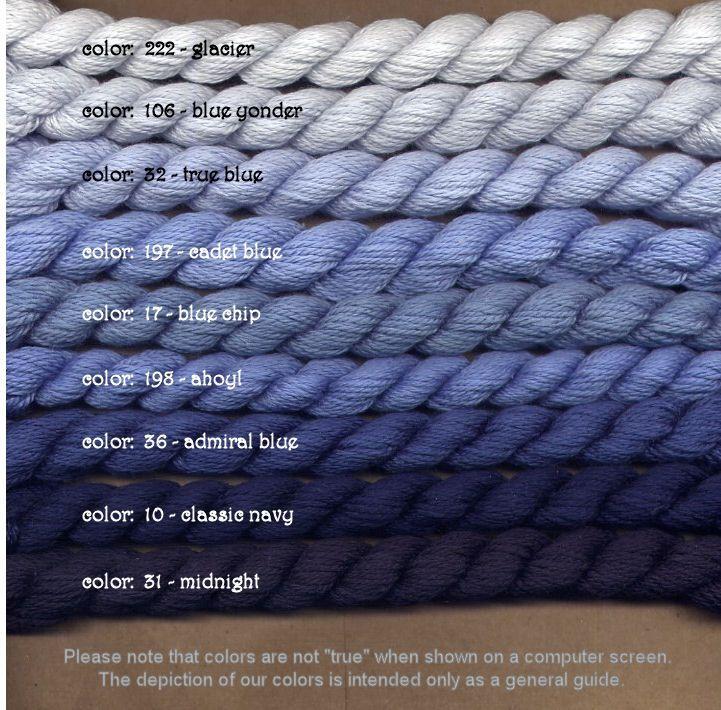 Fibers Silk and Ivory    CADET BLUE