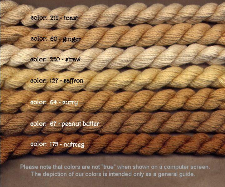 Fibers Silk and Ivory    SAFFRON