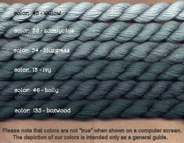 Fibers Silk and Ivory    BLUEGRASS