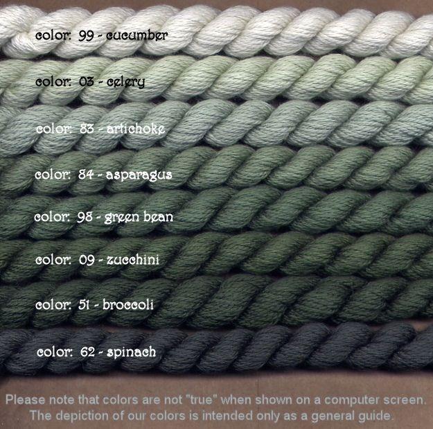 Fibers Silk and Ivory    CUCUMBER