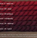 Fibers Silk and Ivory    MERLOT