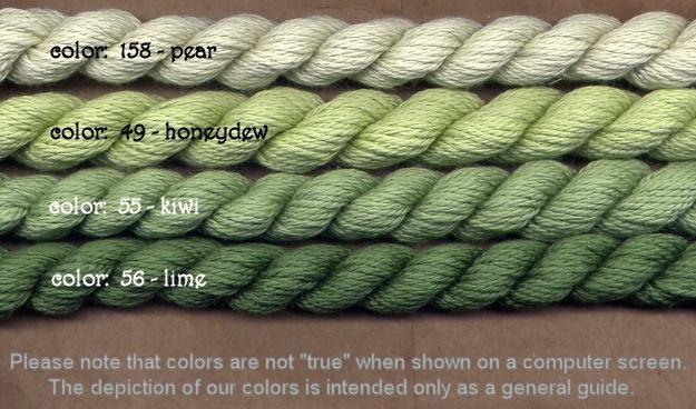Fibers Silk and Ivory    KIWI