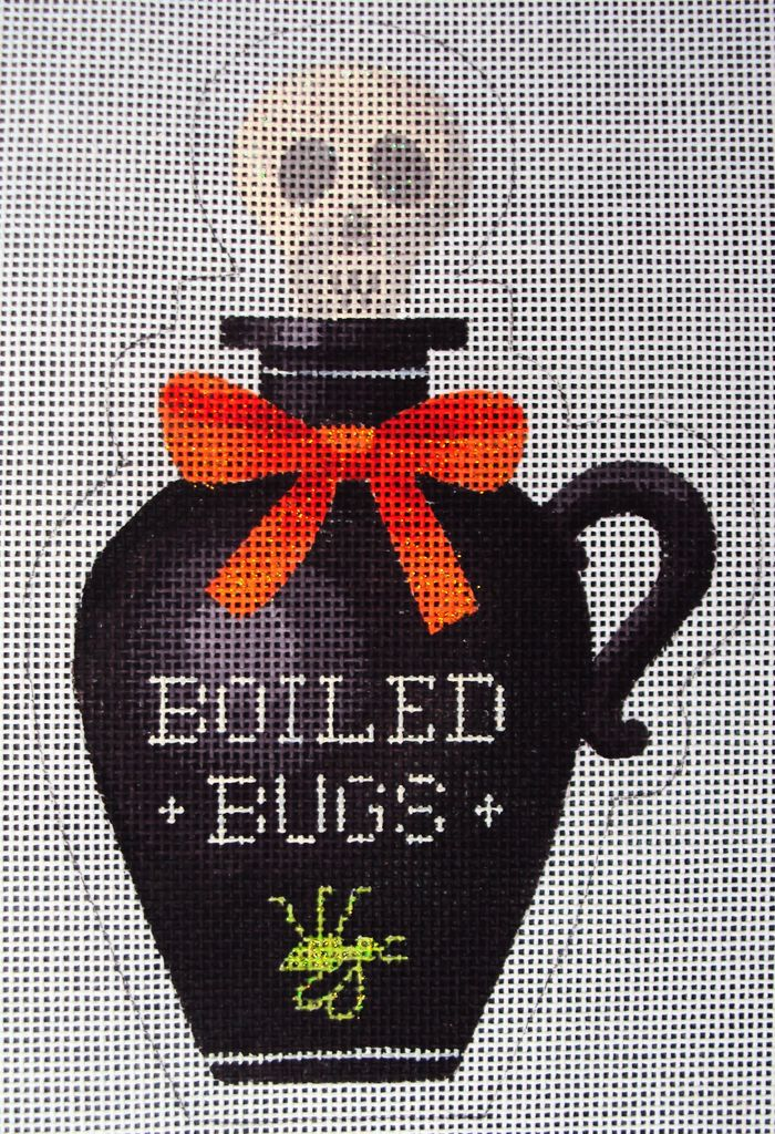 Canvas BOILED BUGS POISON BOTTLE  KH322