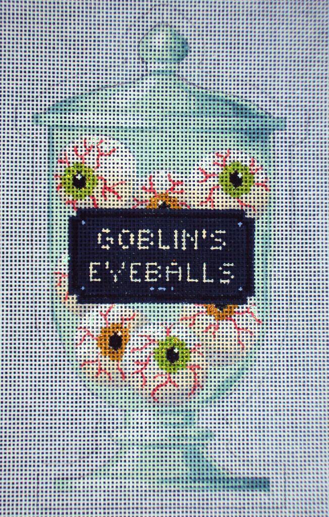 Canvas GOBLEINS EYEBALLS POISON BOTTLE  KH325