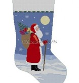 Canvas MOONLIT SANTA 3203