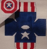 Canvas CAPTAIN AMERICA TOPPER  TO128