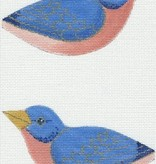 Canvas BLUE BIRD CLIP-ON BIRD  300J