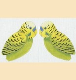Canvas GREEN BUDGIE CLIP-ON  LL 300K