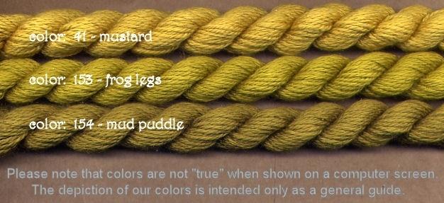 Fibers Silk and Ivory    MUSTARD